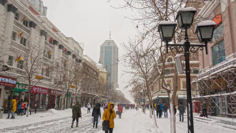 Харбин зимой