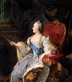 Ф. С. Рокотов. Портрет Екатерины II, 1763 год, Государственная Третьяковская галерея, Москва