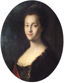 Луи Каравак. Портрет великой княгини Екатерины Алексеевны, 1745 год, Портретная галерея Гатчинского дворца