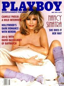 55-летняя Нэнси Синатра на обложке журнала