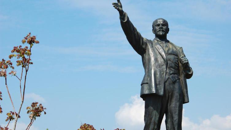 Памятник В.И. Ленину в Будапеште