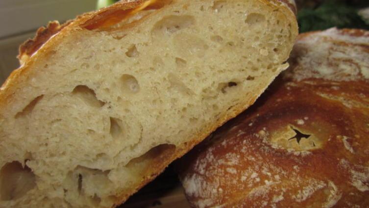 Домашний хлеб Чиабатта