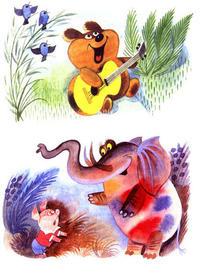 Рисунки Виктора Чижикова