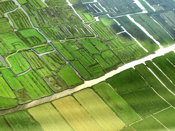 Голландия, на подлете к Амстердаму