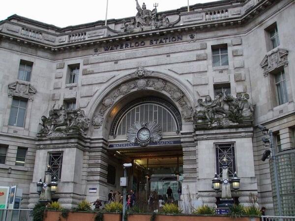 Вокзал Ватерлоо, Лондон.