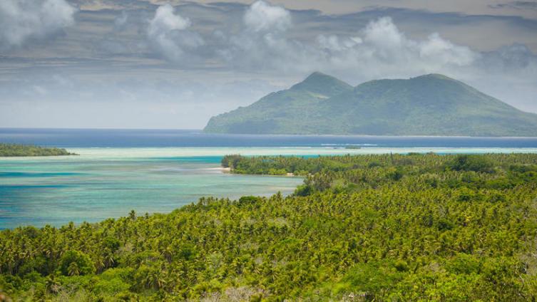 Вид на Вануату
