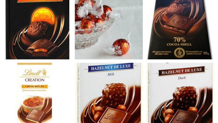 А ты уже выбрал свой вкус шоколада Lindt? Новый этап конкурса
