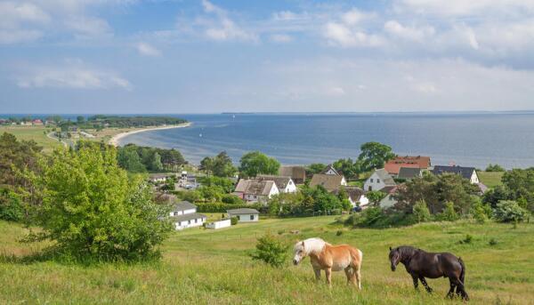 Деревня на острове Рюген