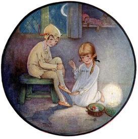 В 1921 году Барри лично попросил проиллюстрировать свою сказку художницу Мейбл Люси Эттвэл.