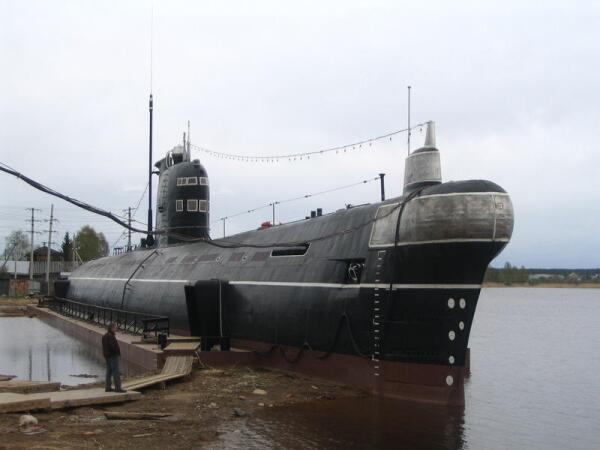 Есть желание побывать на борту подводной лодки? Едем в Вытегру!