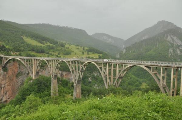 Мост - пятиарочный