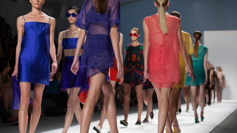 Нью-Йорк, неделя моды Mercedes-Benz, коллекция «Лето-2014»