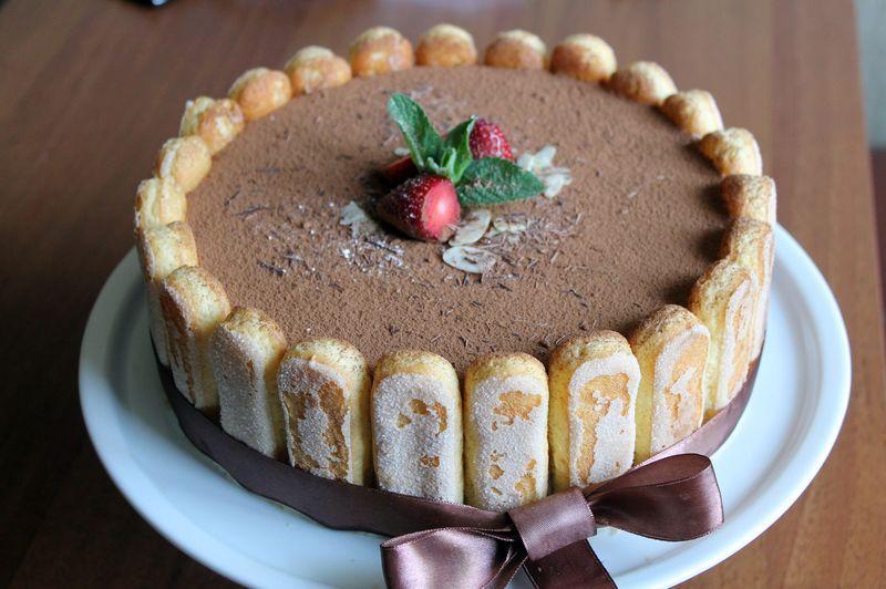 как приготовить торт тирамису без печенья а с бисквитом