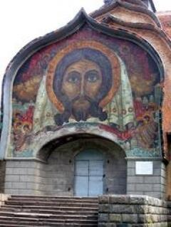 Спас Н.Рериха в Храме Святого Духа (Талашкино)