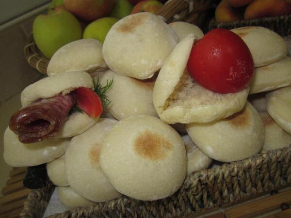 Марокканские лепёшки батбуты