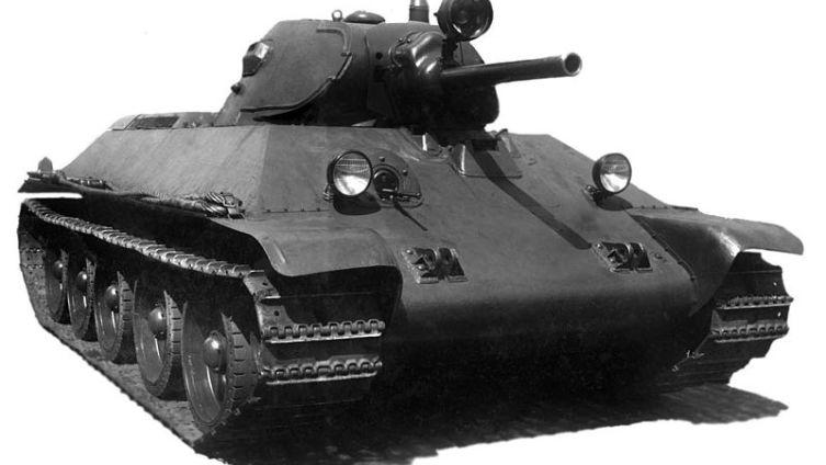 Танк Т-34, модель 1940 г.