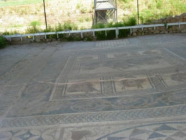 Мозаика Диона