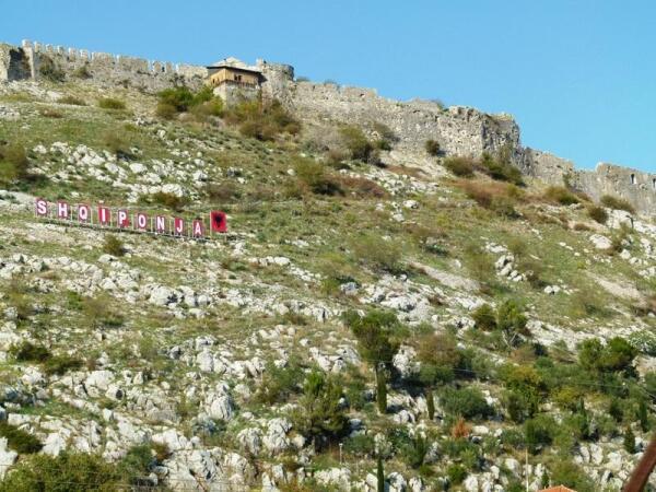Крепость Розафа является одним из национальных символов Албании