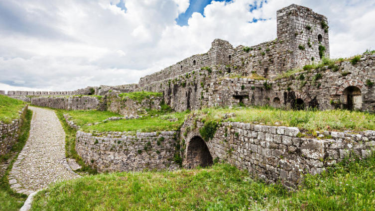 Руины крепости Розафа, Шкодер, Албания