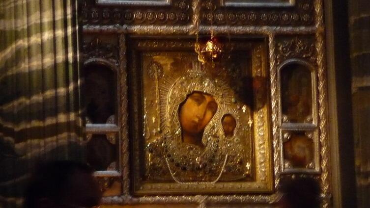 Список из Казанского собора в Петербурге