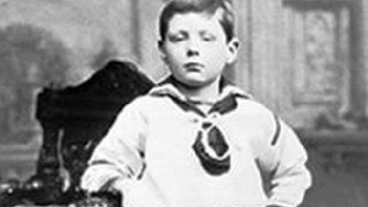 Унинстон Черчилль в возрасте 7 лет