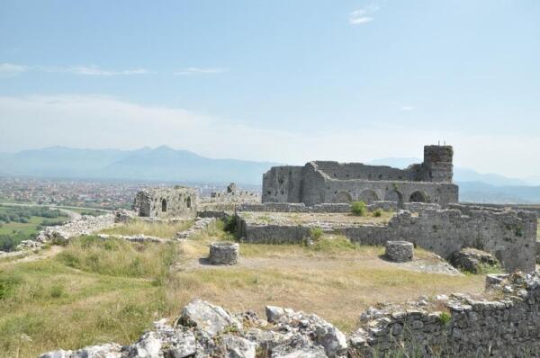 Крепость Розафа. Внутренний дворик