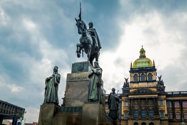 Прага, статуя Св. Вацлава