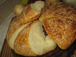Как приготовить сербский хлеб погачице?