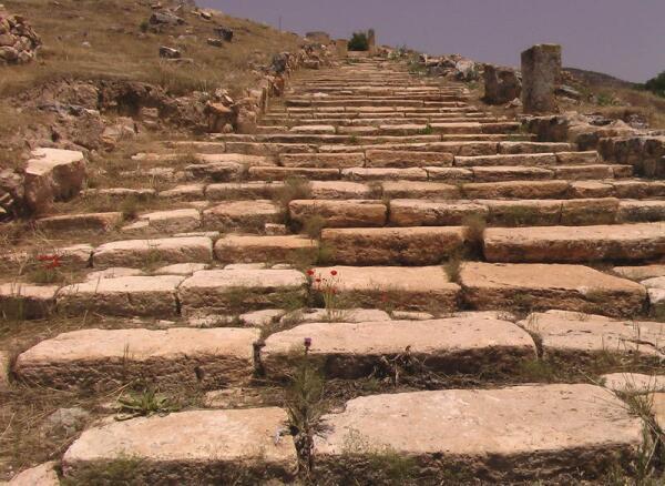 Лестница, ведущая к Мартирию