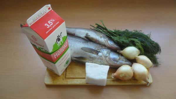 Для того, чтобы потушить рыбу по-эстонски нам понадобятся...
