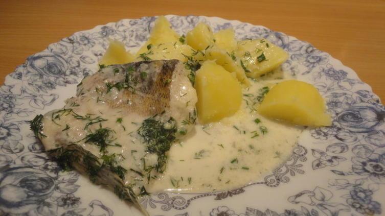 Тушеная рыба. По-эстонски. Собственной персоной