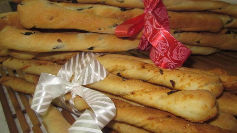 Итальянские хлебные палочки «Гриссини»