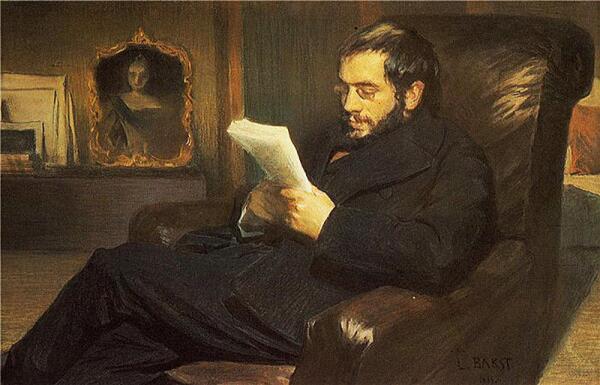 Портрет А. Н. Бенуа (художник Бакст Л.С.)