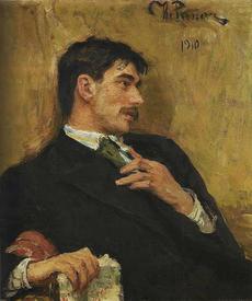 Портрет К. И. Чуковского (художник Репин И.Е.)