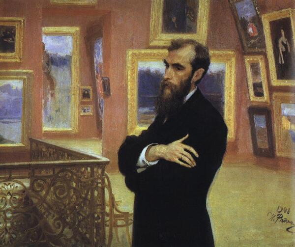 Портрет П. М. Третьякова (художник И.Е. Репин)