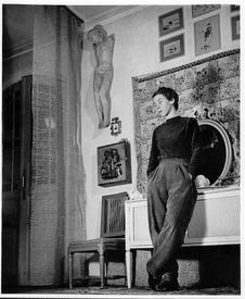 Туве Янссон, фото 1956 г.