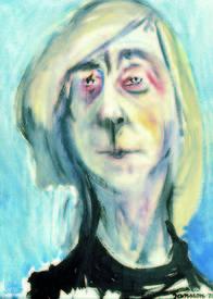 Туве Янссон. Автопортрет 1975 год