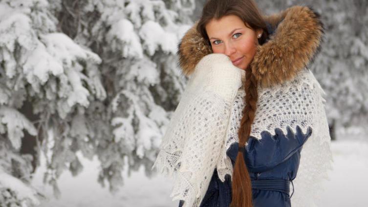 Как бог шельму метит? Легенда о том, как снежная буря оренбургскую мастерицу-пуховницу от злого поругания спасла