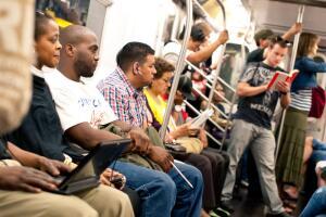 Самое интересное в метро – это, конечно, люди.
