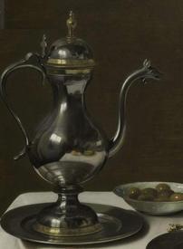 Питер Клас, Пирог с индюком, фрагмент «Кувшин»