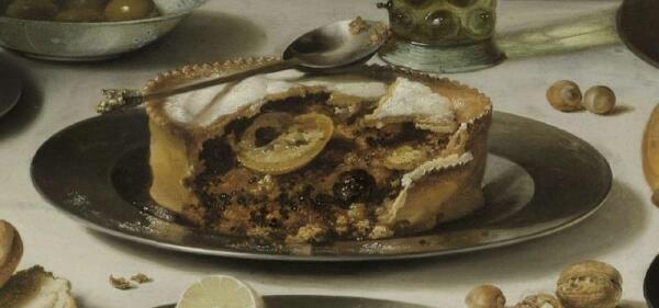 Питер Клас, Пирог с индюком, фрагмент «Сладкий пирог»