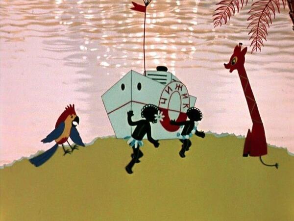 Кадр из м-ф «Катерок» (1970)