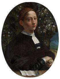 Портрет Досси, на котором, по мнению ряда историков, изображена Лукреция Борджиа