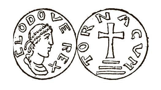 Монета династии Меровингов