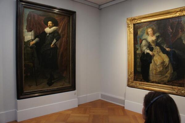 Пинакотека, картины европейских художников
