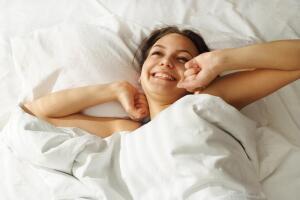 Ровно столько, сколько нужно - блаженного сна...