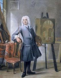Корнелис Трост, Автопортрет, 1745, 62х52 см, Королевская галерея Маурицхёйс, Гаага, Нидерланды