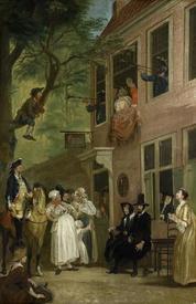 Корнелис Трост, Посол Лабберлоттена, 157х104 см, 1720, Rijksmuseum, Амстердам, Нидерланды