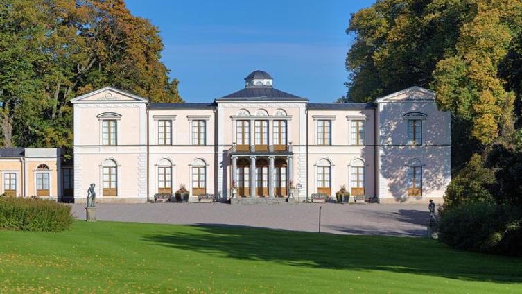 Шведская королевская резиденция, построена во времена правления Карла XIV