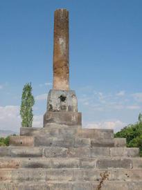 «Колонну Морика» иначе называют: «Раннехристианская стела»